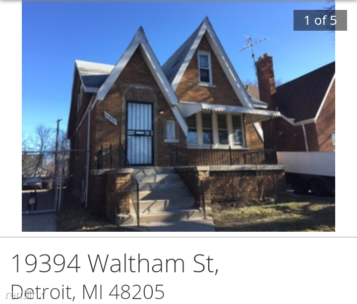 19394 Waltham St Detroit Mi 48205 3 Bedroom Apartment For Rent Padmapper