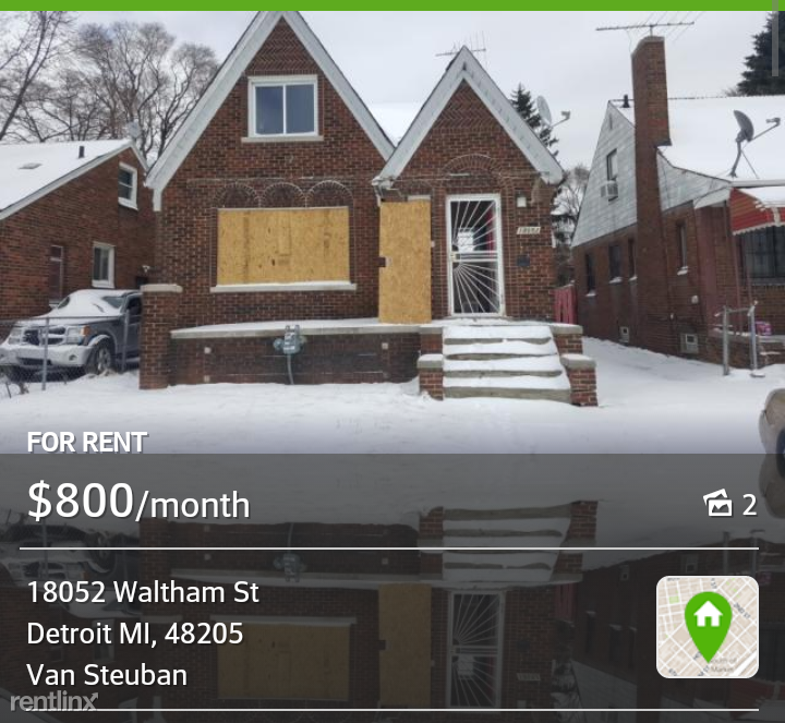 Four Bedroom Houses For Rent: 18052 Waltham St, Detroit, MI 48205 4 Bedroom House For