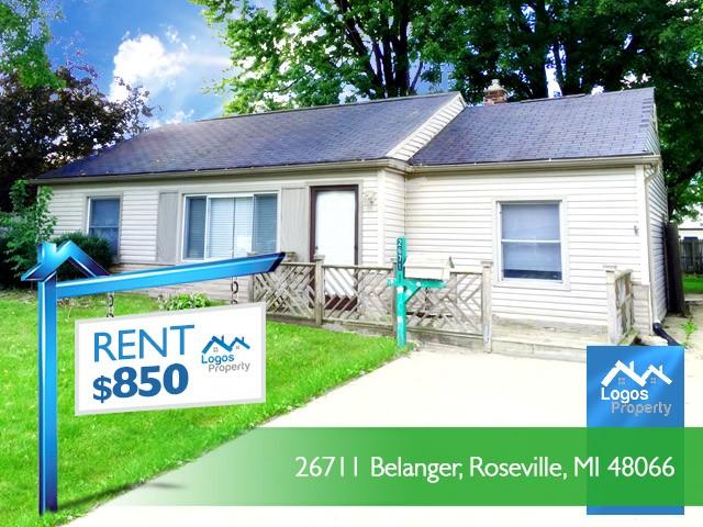 26711 Balanger 1 Roseville Mi 48066 3 Bedroom Apartment For Rent Padmapper