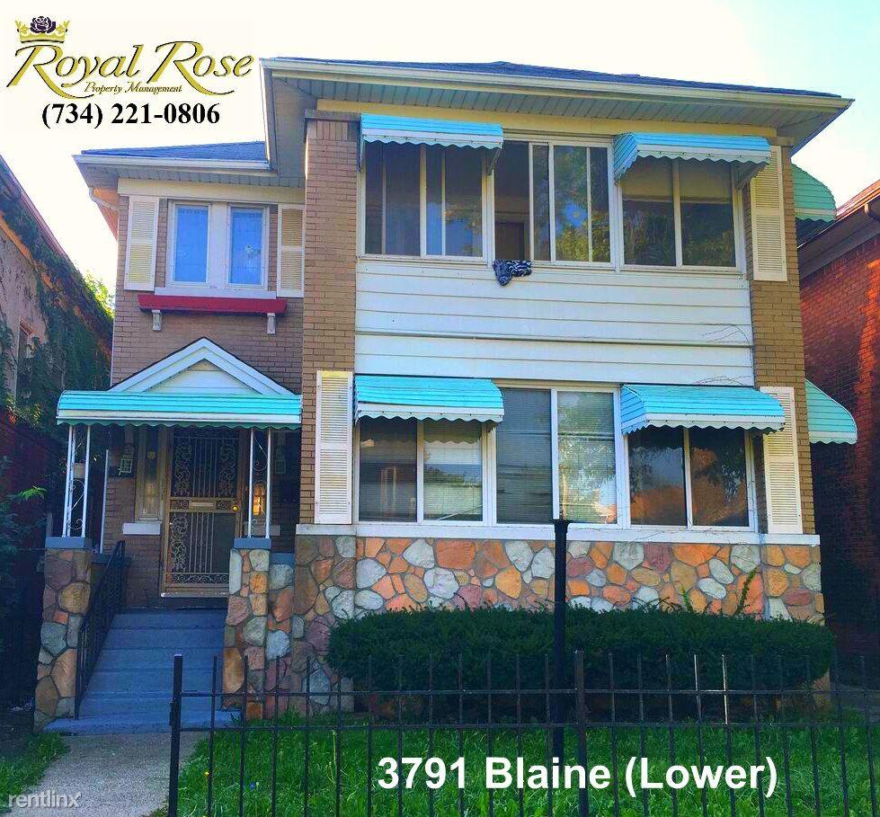 3791 3791 Blaine St Lowr Detroit Mi 48206 2 Bedroom Apartment For Rent For 600 Month Zumper