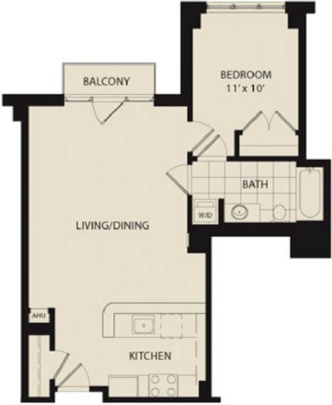 M St Nw Washington Dc 20001 1 Bedroom Apartment For Rent Padmapper