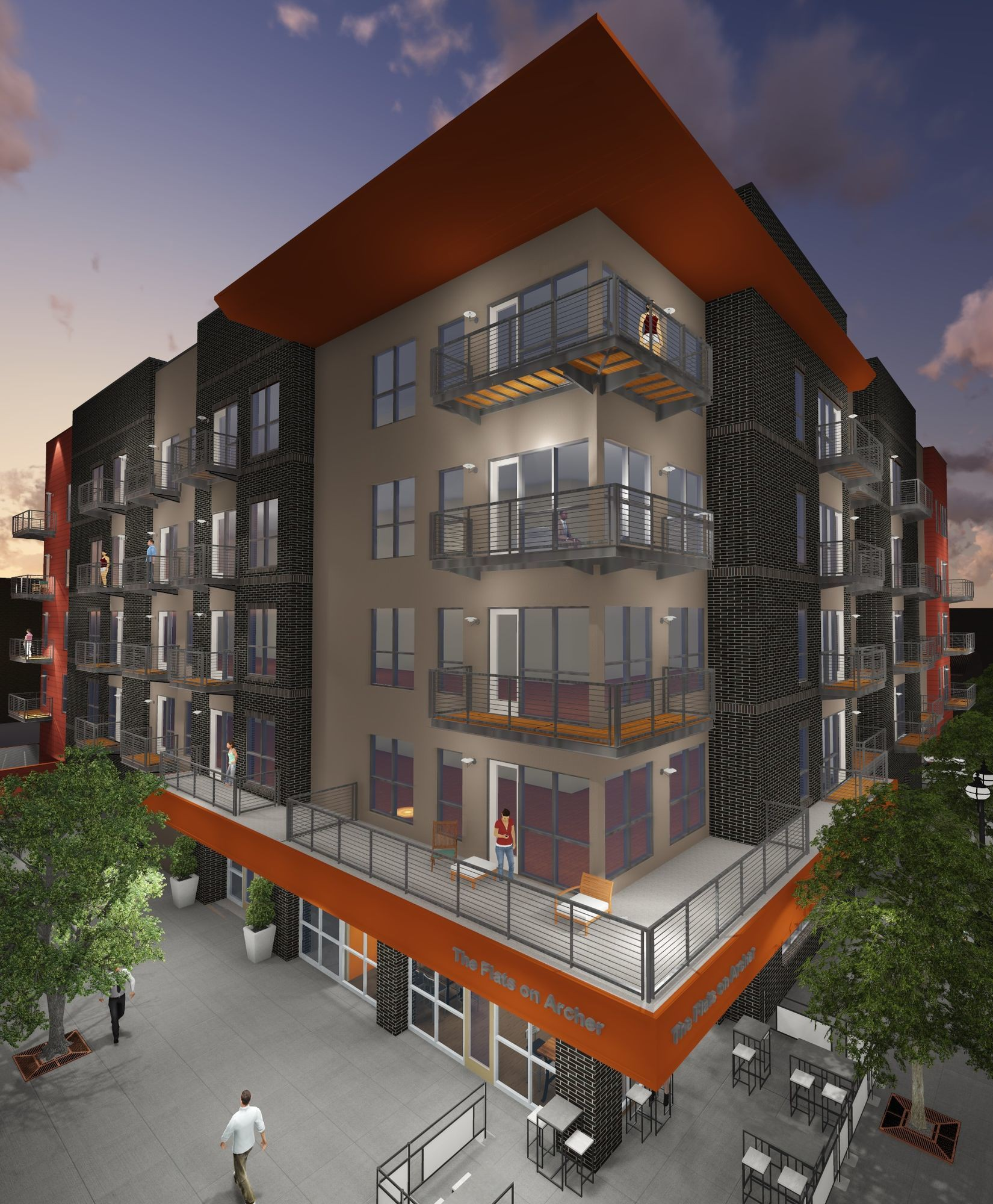 The Flats On Archer