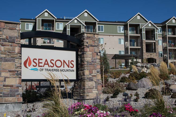 Seasons of Traverse Mountain