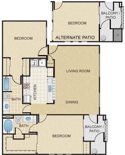 The Paseo at Pebble Creek Apartments