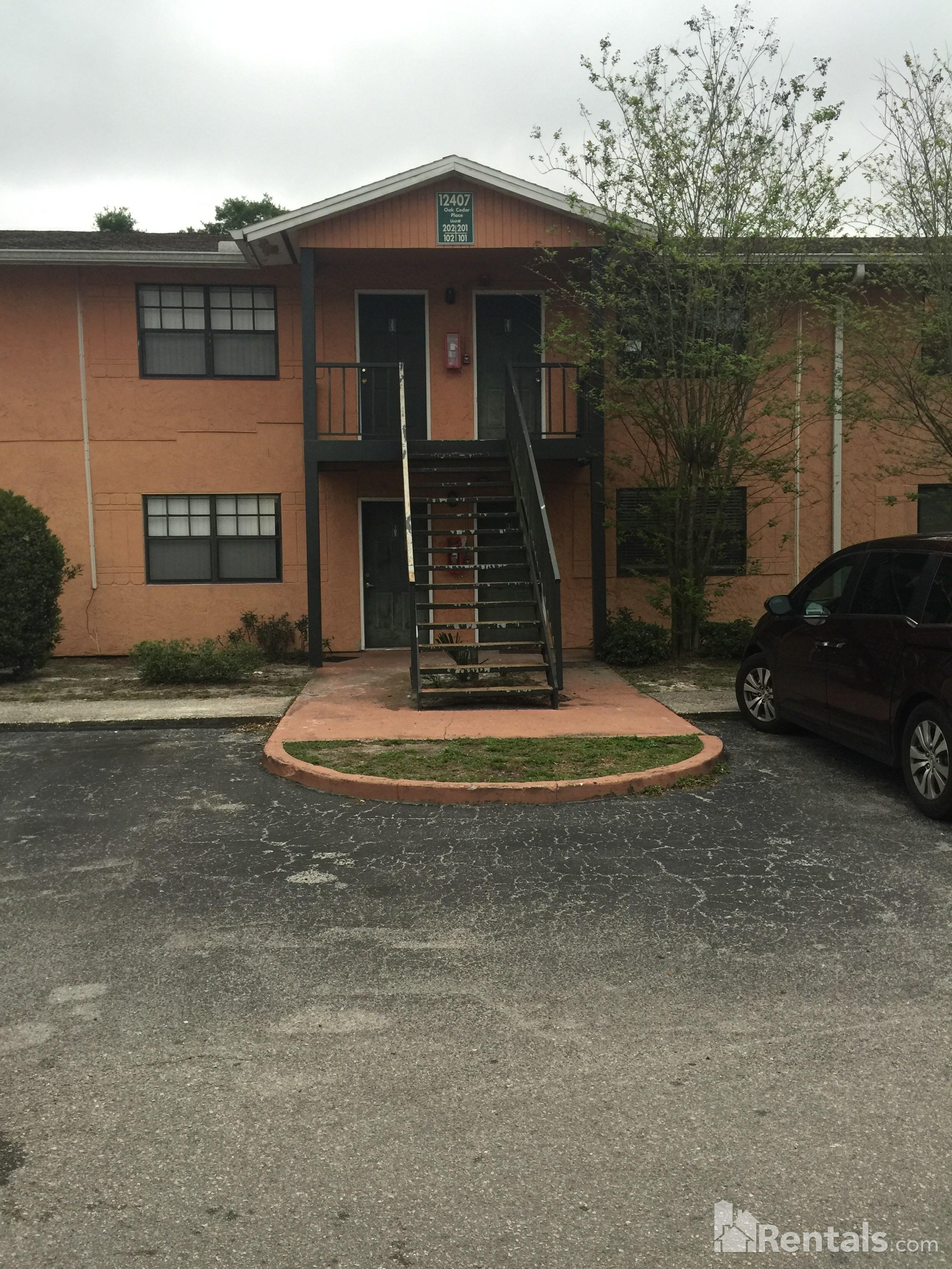 12407 oak cedar pl tampa fl 33612 2 bedroom apartment for rent for