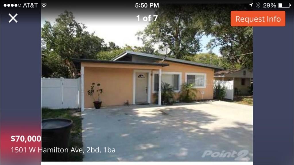 7708 North Huntley Avenue Tampa Fl 33604 3 Bedroom Apartment For Rent Padmapper